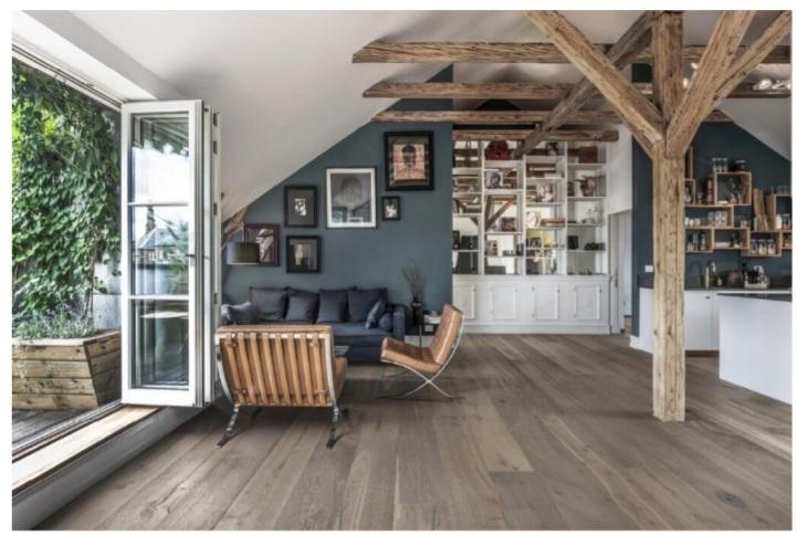 پارکت چوبی در طراحی منزل